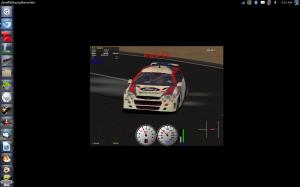 Ford Focus WRC drift